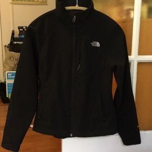 North Face Apex soft shell jacket Small Black